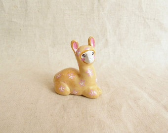 Llama figurine. One of a kind.