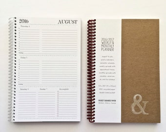 2016-2017 Academic Planner SMALL