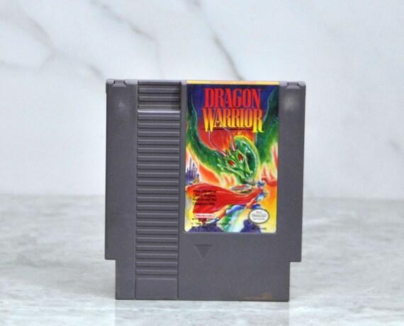 Vintage Nintendo Game Dragon Warrior (NES) Enix 8 bit 1986 - Role Playing - RPG - Dragonlord - Quest - Dragons - Mid Evil - Spartins - War