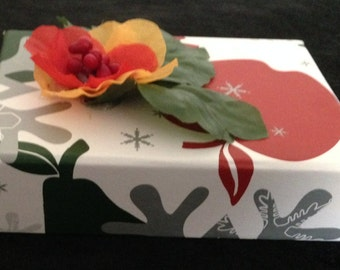 Apple/pear/snowflake box