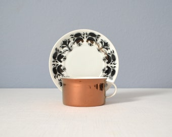 Five Mid Century Rosenthal Continental Hilton Cup and Saucer Sets
