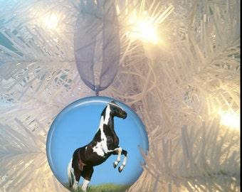 Horse #6 Christmas Tree Ornament