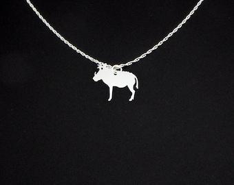 Warthog Necklace - Warthog Jewelry - Warthog Gift