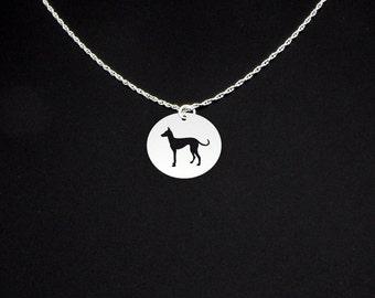Podenco Canario Necklace - Podenco Canario Jewelry - Podenco Canario Gift
