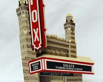 1995 Fox Theatre Wooden Collectible, by Sheila