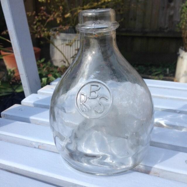 Glass wasp trap insect trap garden decor vintage glassware - Trap decor ...