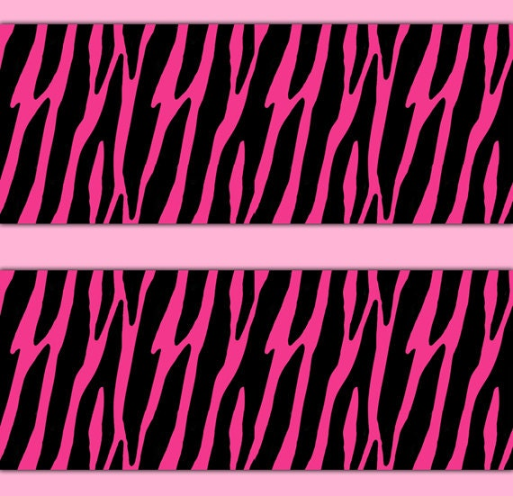 pink zebra wallpaper for bedrooms zebra wallpaper border decal wall teen animal print 19491