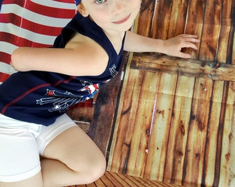 4th of July Turban, American Flag Head Band, Infant to Adult Size, Fourth of July, Red White Blue Turban, Patriotic Hair Accessory, Gift