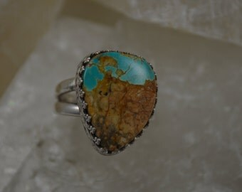 Boulder Turquoise Ring