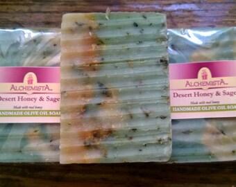 Desert Sage & Mesquite Honey Olive Oil Soap