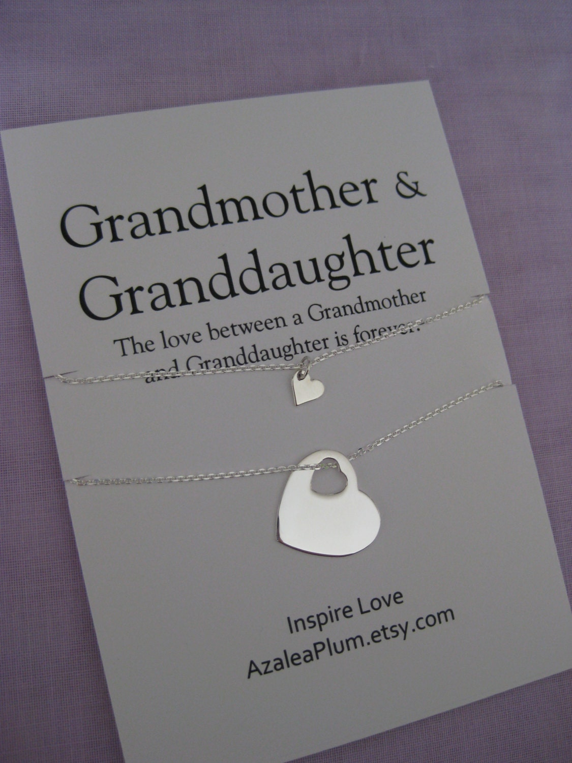grandmother granddaughter 60th birthday gift by azaleaplum
