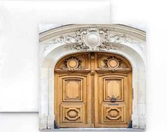 Paris Door Note Card - Paris Greeting Card