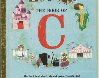 Vintage Golden Book THe Book of C