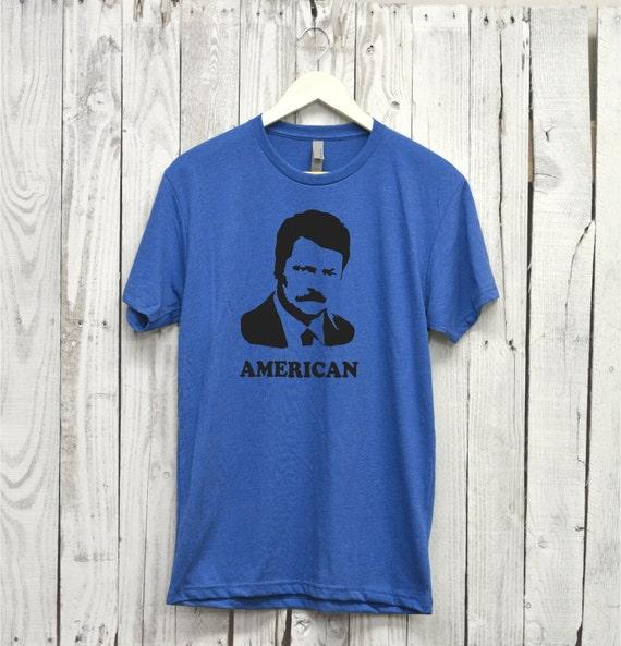Ron Swanson Shirt. Parks and Rec Shirt. Ron Swanson.