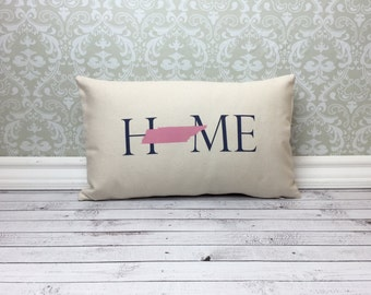Tennessee Pillow Long Pillow Home Pillow State Pillow Home Decor House