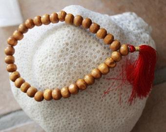 Sandlewood Mala Bracelet