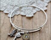 Bullet Bracelet, Bullet Jewelry, Ammo Jewelry, 9 mm Bullet