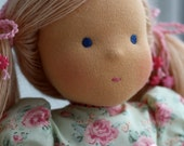 Waldorf doll- Irinka-15 inches, daughter of a gift
