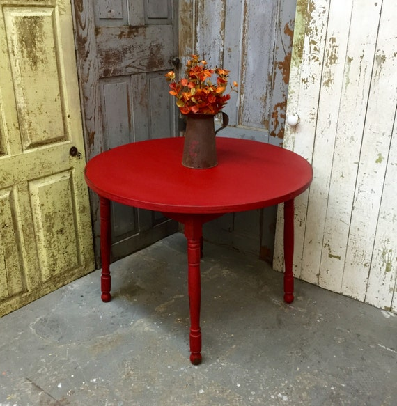 Red Kitchen Table: Small Dining Table Red Kitchen Table Small Round Dining