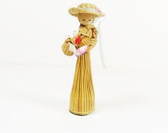 Vintage Broomstraw Doll