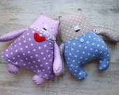 6 designs Teddy bear girl or boy soft toy primitive safe stuffed bear 10' baby shower gift nursery decor