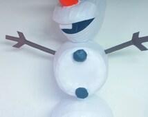 Custom Frozen Oaloaf Pinata (All Parts of Body Move Realistically)