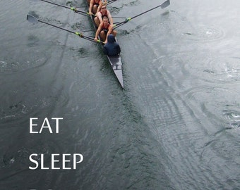 eat sleep row repeat card crew lmu balona creek #C6760