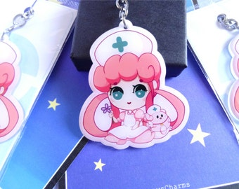 Nurse Joy Key Chain