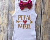 Flower Girl Shirt, Bridal Party Gifts, Bride Shirt, Flower Girl Outfit, Wedding Rehearsal, Flower Girl Tank, Wedding Gift, Flower Girl,