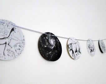 Vintage Constellations Garland