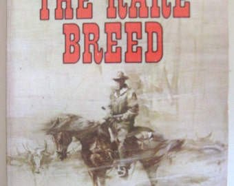 The Rare Breed by Theodore Sturgeon - Vintage Western Paperback 1966