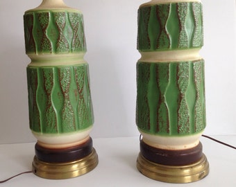Pair of Midcentury Modern Table Lamps