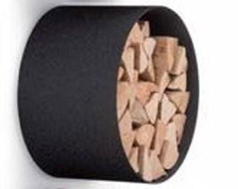 Wall Mounted Storage - Firewood Holder/Log Holder