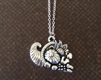 Cornicopia - Fall Jewelry - Fall Necklace - Autumn Necklace - Autumn Jewelry - Autumn Wedding - Unique Necklace - Unique Jewelry - Necklace