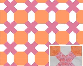 Tic Tac Toe Quilt Pattern PDF