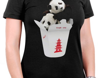 Panda Takeout Women's T-Shirt