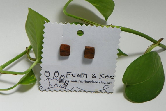 Texas Tree Root Earrings from Feath & Kee