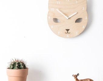 Cece the Cat Clock