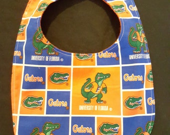 University of Florida Gators Custom Baby Bib