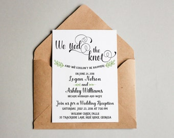custom wedding invitations and stationery by adorepaperco on etsy