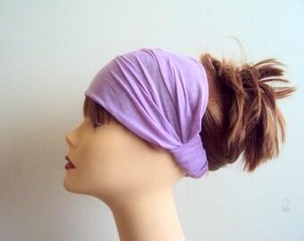 Yoga Headband Elastic Back Wide Athletic Cotton Headband Dreadlock Headband Fitness Headband