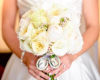 Custom Wedding Bouquet Photo Memory Charm