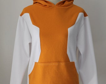 Orange Pokemon GO Trainer Cosplay Costume Hoodie Jacket