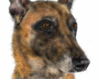 Custom Dog Pet Portrait, custom portrait, pet portrait, dog art, dog lover, dog memorial, dog, pet memorial, artwork, wall art, art print