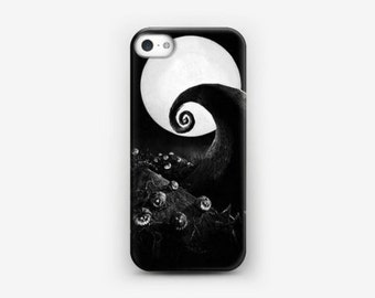 The Nightmare Before Christmas Halloween Black And White Case For iPhone And Samsung
