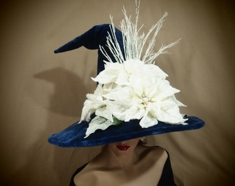 """Couture Witch Hat """"Iclyn"""""""