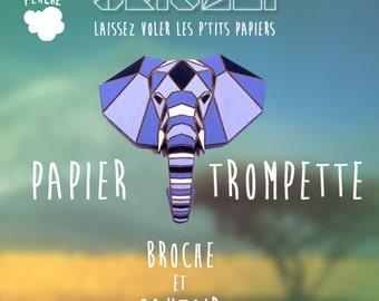 PIN Elephant Origami