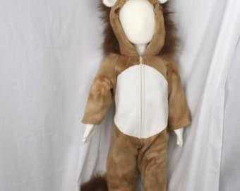 Lion Fleece Baby Costume