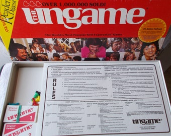 Vintage Ungame Board Game 1984 Original Version