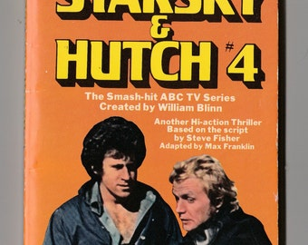 Vintage Starsky and Hutch TV Show Paperback 1977
